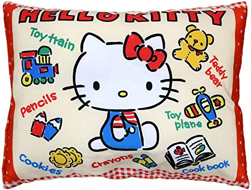 Air plants Dream [Choose Character] Junior Size Pillow 28×39cm (Hello Kitty (Toy Kitty))