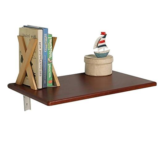 Mesa de pared Mesa cocina plegable, escritorio de pared de madera ...