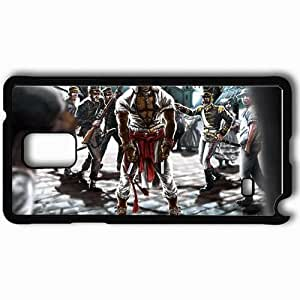 Personalized Samsung Note 4 Cell phone Case/Cover Skin Assassin Art Soldiers People Black