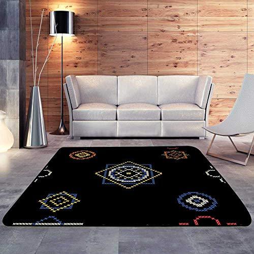 Carpet mat,Retro with Cross stitchW 47