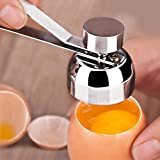 Egg Shell Mattress Topper Gotian Stainless Steel Egg Topper Cutter Shell Boiled Raw Egg Clean Opener Scissors Tool
