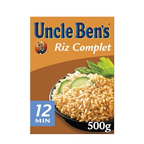 (Uncle Bens Whole Grain Rice 500g)