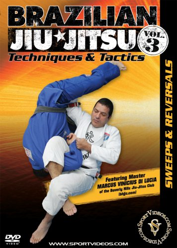 Brazilian Jiu-Jitsu Techniques and Tactics - Vol. 3: Sweeps and Reversals DVD featuring Marcus Vinicius