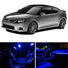 Scion TC 2008-2014 Blue Premium LED Interior Lights Package Kit (7 Pieces)