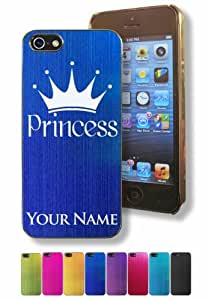 phone covers Apple iPhone 5c Case/Cover - PRINCESS CROWN - Personalized for FREE (Click the CONTACT SELLER button after purchase and send a message with your case color engraving request)