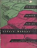 1951-1960 Ford Repair Shop Manual Original Consul Zephyr Zodiac