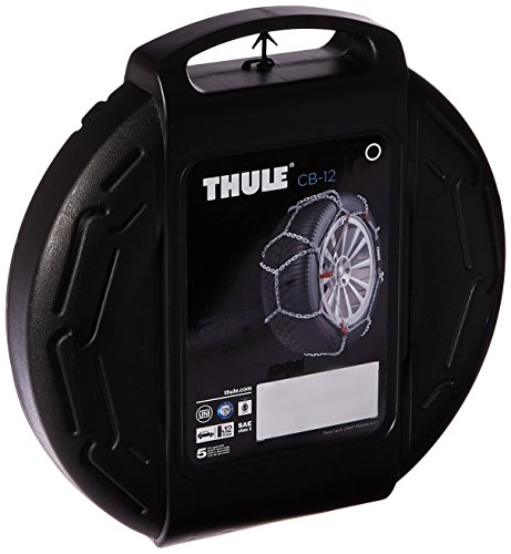 Thule 12mm CB12 Passenger Car Snow Chain, Size 090 (Sold in pairs) (2006 Classic Car Mats)