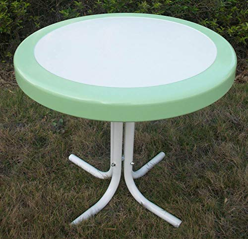 (4D Concepts 71320 Metal Retro Round Table)