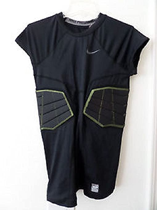 37344487 Image Unavailable. Image not available for. Color: Mens Nike ProCombat  Hyperstrong Compression 3.0 2 pad Football Shirt 3XL