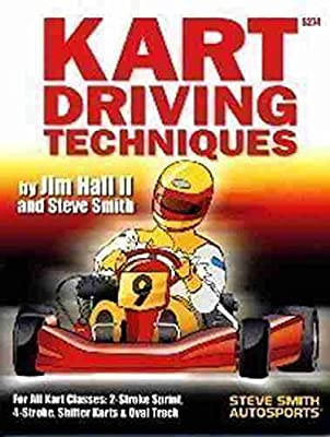 COMPLETE RACE KART DRIVING TECHNIQUES - COVERS: Cornering Dynamics, Proper Line, Braking Finesse, Trail Breaking, Passing Strategies, Getting Out of Trouble, Mental Approach.