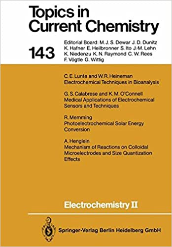 Electrochemistry II (Topics in Current Chemistry)