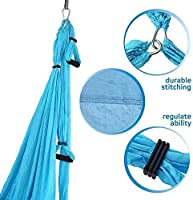 Amazon.com : Yoga Swing - Antigravity Yoga Hammock - Aerial ...