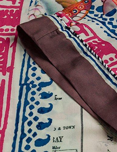 Print Replay Mujer 10 Pantalones Para Multicolor multicolour xqRwngq6Wz