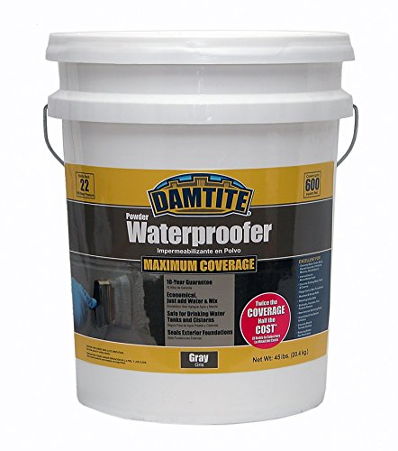 damtite-02451-gray-maximum-coverage-powdered-waterproofer-45-lb-pail