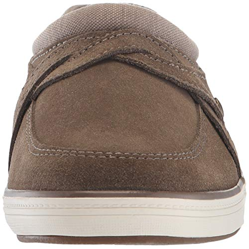 Brown Mule Women's Clog Grasshoppers Cruise Suede HTxEXw