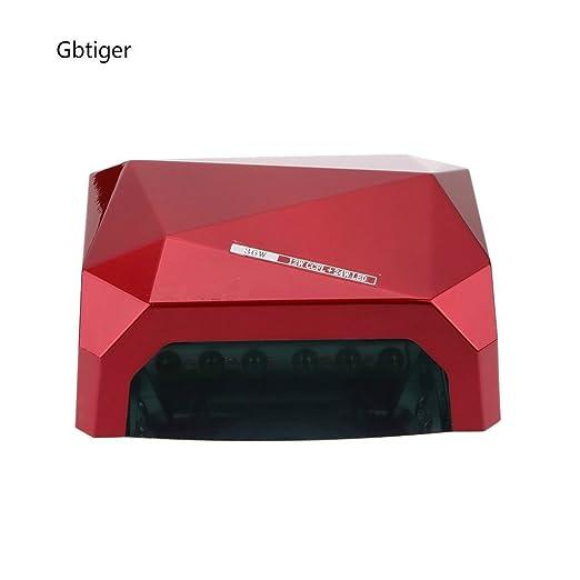 CCFL de 36 de de uñas gel y W Gbtiger LED polimerización UVA Secado para manicura Lámpara de CrhQtsd
