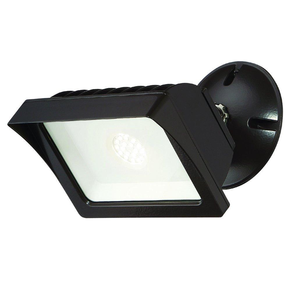 Designers Fountain FL2016N40-48 Integrated Led Adjustable Single-Head Bronze Outdoor Flood Light, 1775 lm, 4000K