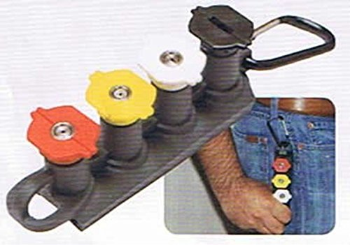 - 3.0 GPM Nozzle Set with Holder and Clip