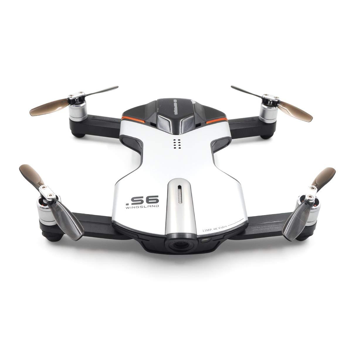 Selfie Drone WiFi FPV con cámara 4K UHD Comprehensive Obstacle ...