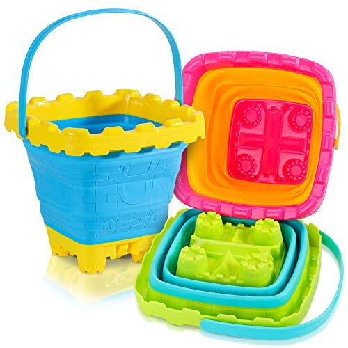 Great beach buckets for kids!