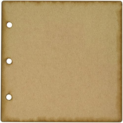 Clear Scraps Regular Chipboard Album 6x6-5 Pages & No Rings ()