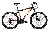 Montra madrock 27.5 Bicycle (Orange Matte Black)