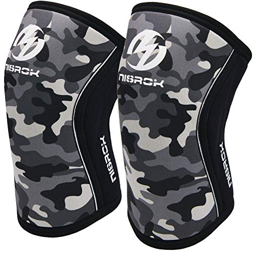 Knee Sleeves (1 Pair), 7mm Neoprene Compression...