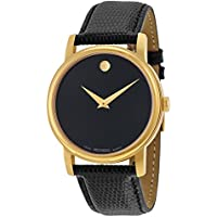 Movado Museum Gold Plated Round Men's or Women's Watch