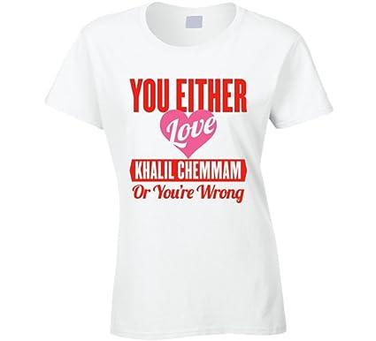 I Love Heart Tunisia Ladies T-Shirt
