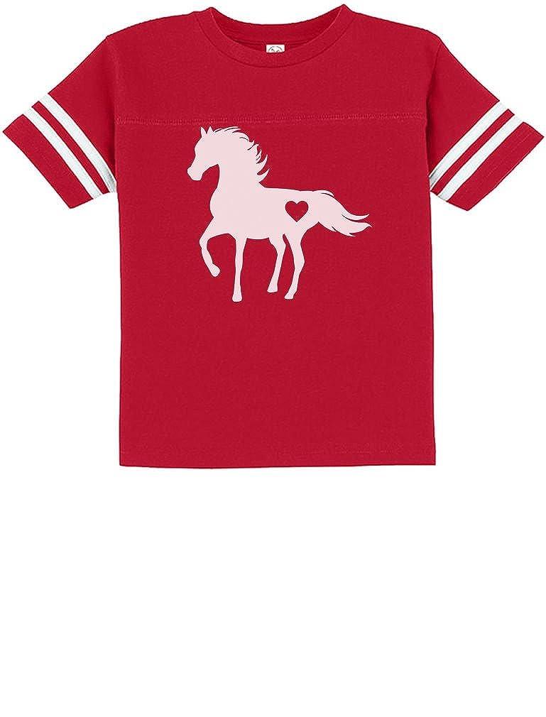 Tstars Gift for Horse Lover Love Horses Toddler Jersey T-Shirt
