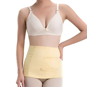 UZZO Comfortable Cotton Elastic Postpartum Support Girdle Belt Post  Pregnancy Body shape Recovery Belly Waist Slim 9c4c05a5feb