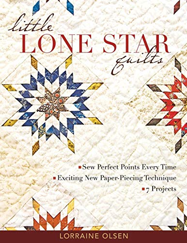 Little Lone Star Quilts: Sew Perfect Points Every Time, Exciting New Paper-Piecing Techniques (Lone Star Quilt Pattern)