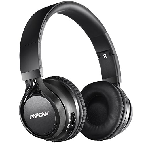 Mpow Thor Auriculares Bluetooth Estéreo Inalámbricos Plegables Audífonos para Apple iPhone, PC, Mac y TV