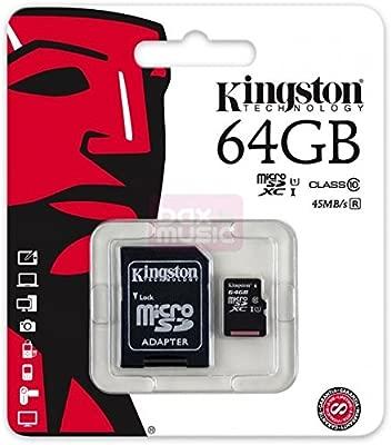 Tarjeta micro SD SDXC 64 GB Clase 10 para ZTE Blade V6 ...