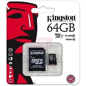Tarjeta micro SD SDXC 64 GB Clase 10 para Samsung Galaxy S7 ...