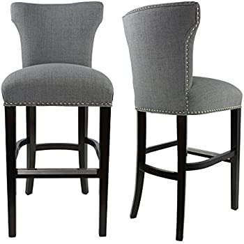 amazon com sole designs bella collection modern upholstered bar