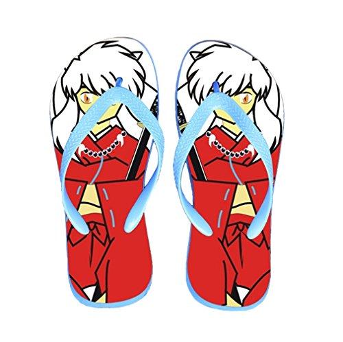 Bromeo Inuyasha Anime Unisex Flip Flops Chanclas 599