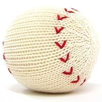 Estella Baby Rattle Toy, Baseball