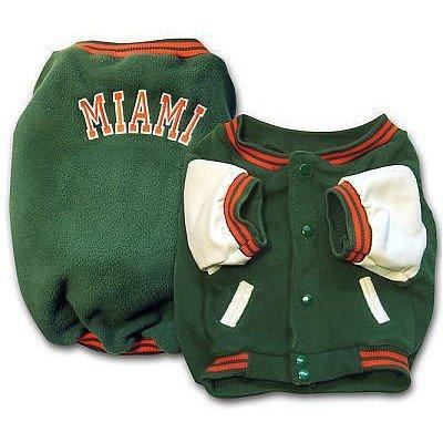 Sporty K9 Miami Varsity Dog Jacket, Small