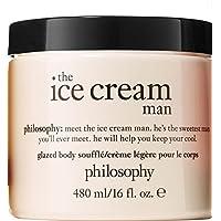 Philosophy The Ice Cream Man Glazed Body Souffle Creme Supersized 16 ounce