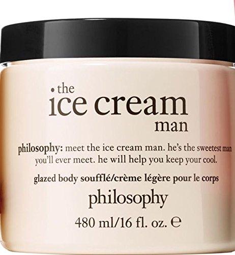 Philosophy The Ice Cream Man Glazed Body Souffle Creme Supersized 16 ounce by Philosophy