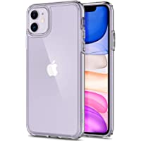 Spigen Ultra Hybrid, Designed for iPhone 11 Case (2019) - Crystal Clear