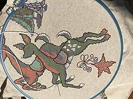 Camino de mesa navideño, servilleta larga, juego de punto de cruz preestampado, 180 x 33 cm, hilo de algodón egipcio, tela de lino con estampado de punto de cruz soluble en agua,