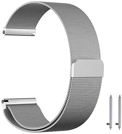 20mm Milanese Loop Watch Band Magnetic Closure Mesh Stainles