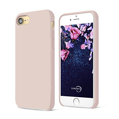 coque apple iphone 8 rose pale