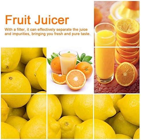 Zwindy Diseño Antideslizante Conveniente Fácil de Limpiar Fondo Plano Exprimidor de Frutas Duradero, Exprimidor Manual, Restaurantes Familias para Limones Naranjas