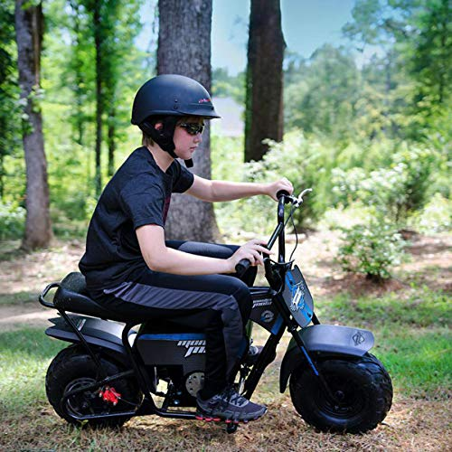 Monster Moto - Electric Mini Bike - 1000W (MM-E1000-BRM)(Black/Blue)