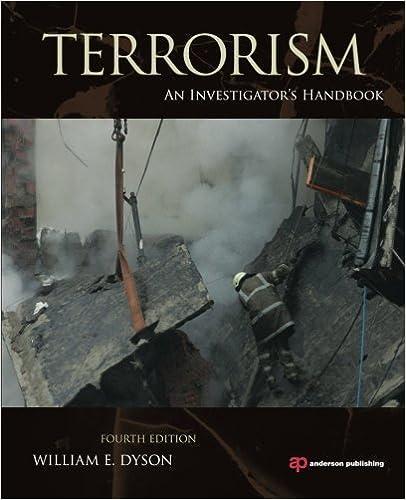 Terrorism: An Investigator's Handbook
