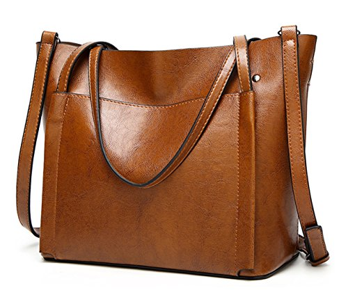 Black Handbag Women Shoulder Purse Tote Large Tibes Bag Fashion Faux Crossbody Leather C wUy5Ey7pq