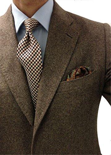 Windowpane Plaid Suit - 7